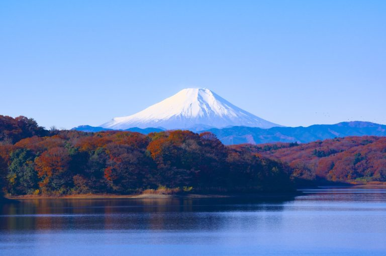 Five lake of Mount Fuji