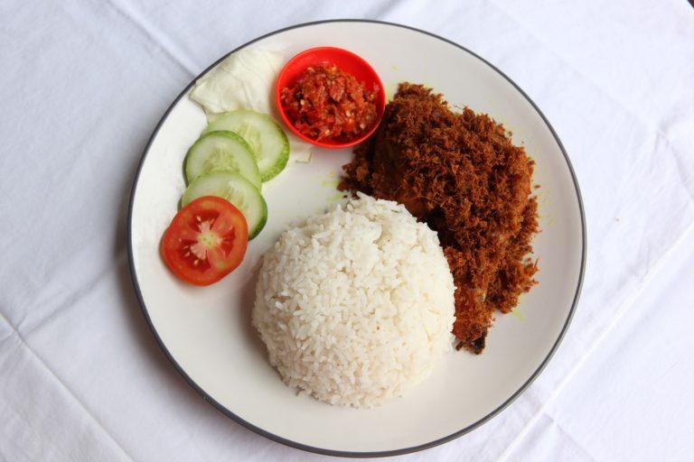 Nasi Ayam Penyet Bali