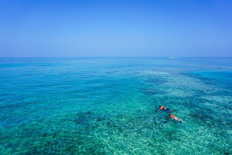 Snorkeling at Sabah