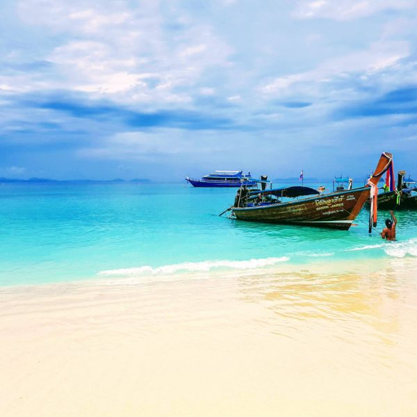 Boat at Phuket Beach Thailand